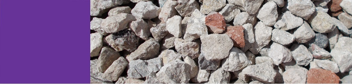 Recycled aggregates reduce environmental impact